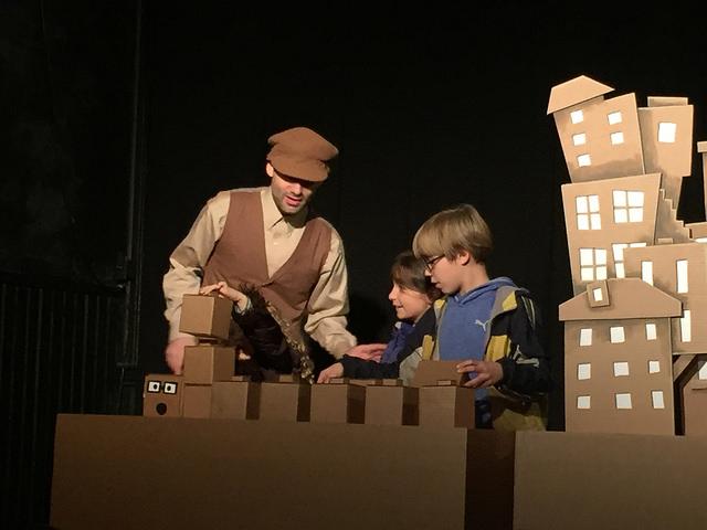 Puppet Showplace Theater, Brookline First Light Festival, Nov 2015