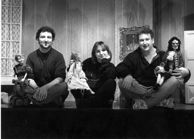 Peter Pan. Left to right: Peter Syrotiak, Mariana Syrotiak, David Syrotiak Jr.