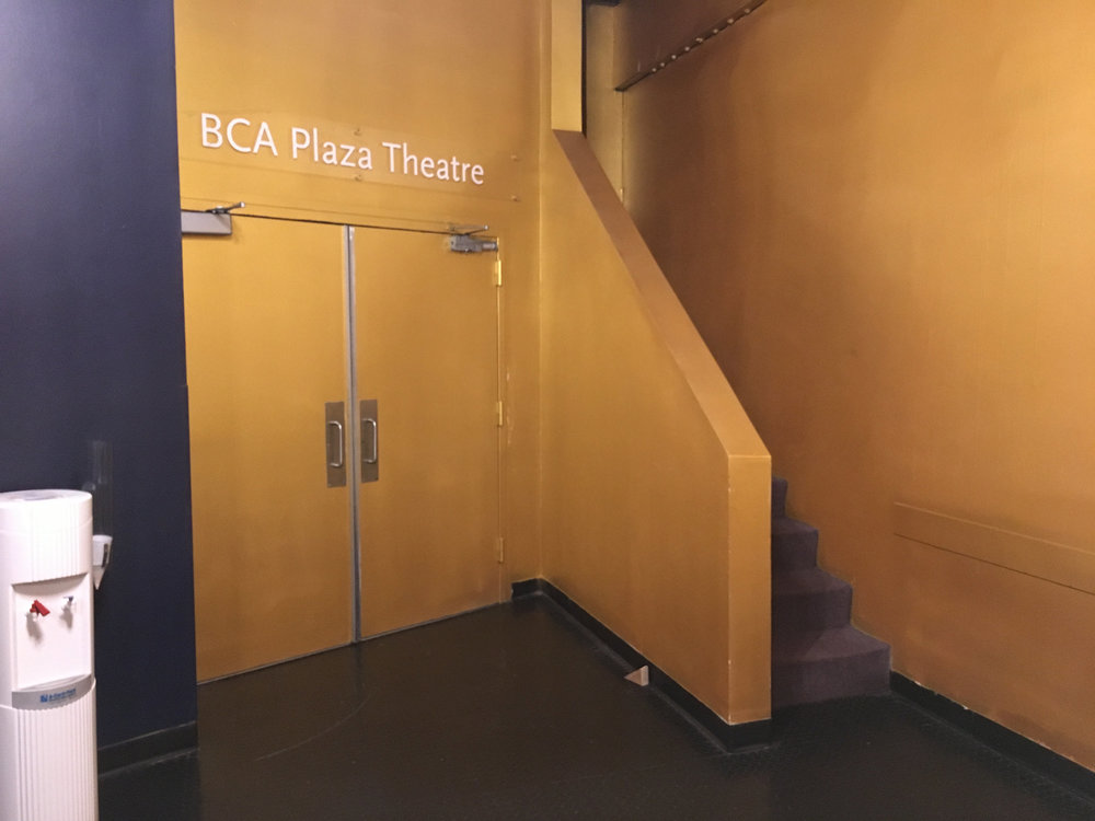 Doors to Plaza Theatre