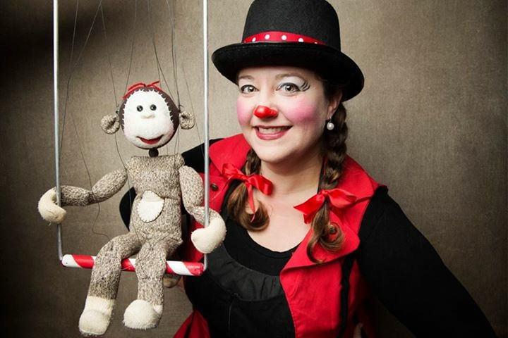 Honey Sock Monkey Circus