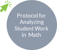 Protocol for analyzing student work in math