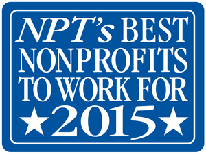 "A ""best nonprofit to work for"" two years in a row!"