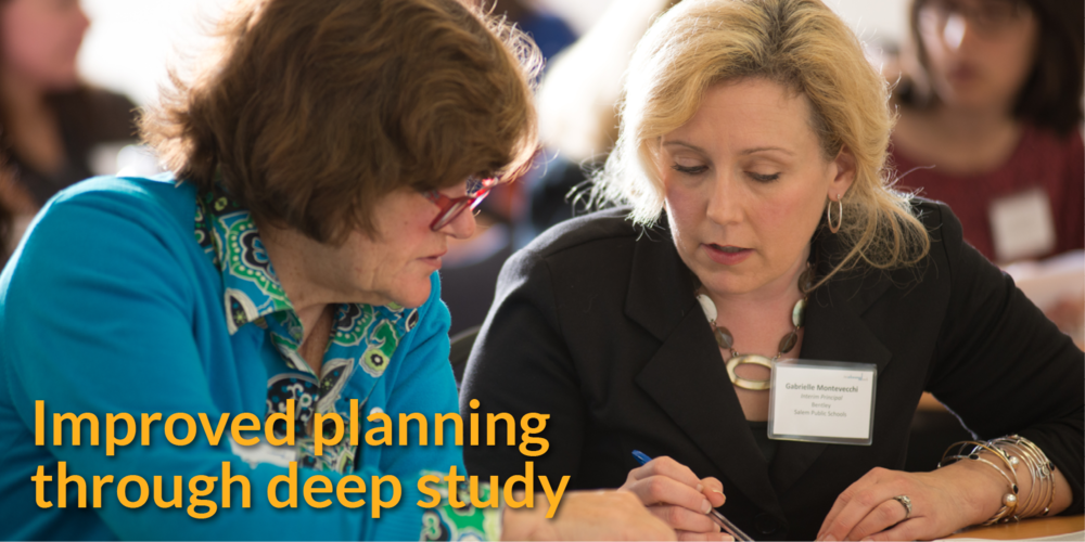 Improved planning through deep study