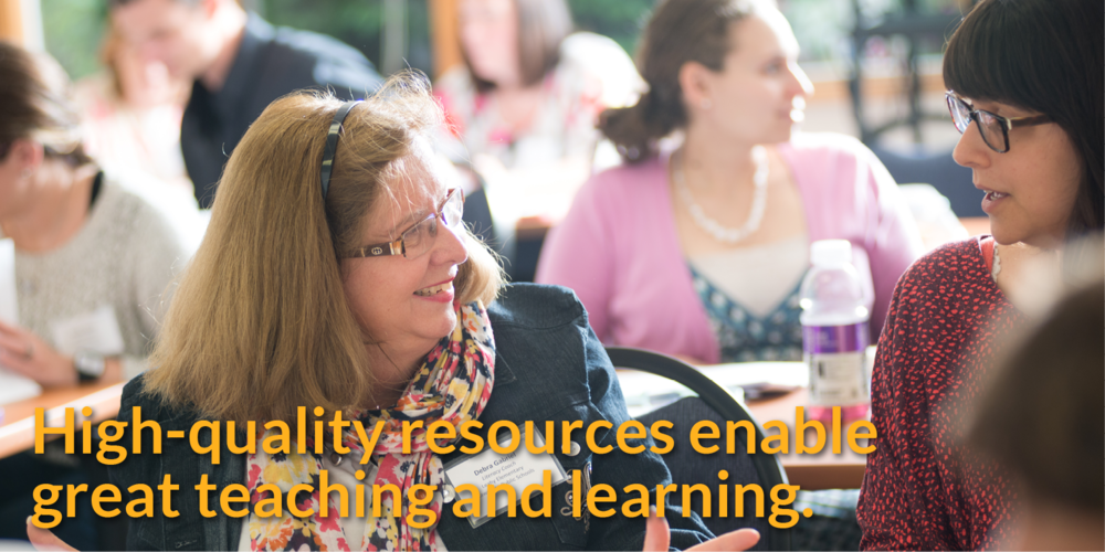 High-quality resources enable great teaching and learning.