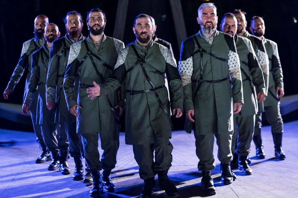 Cyprus Theatre Organization's  The Persians .