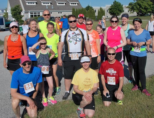 The Hog Wild Run 10K and 5K in Sturgeon Bay had glorious weather again!