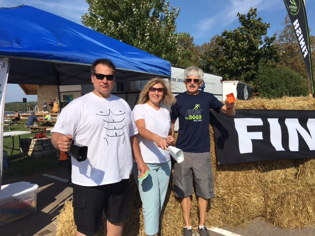 Don't forget, you can score two points by volunteering at specified events the way nine of us did on Sept. 16 at the Peninsula Fall Classic Century bike ride in Sister Bay. Next volunteer opportunity is the Egg Harbor aid station and traffic control during the Fall 50 on Oct. 21. Code is DCSSA if you volunteer. Hope you do! Thanks to Pat Saladin for the photo.