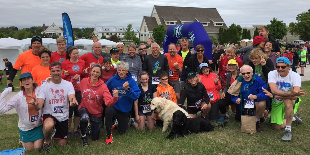It's always a good time at the Hog Wild Run in Sturgeon Bay! For early June, it was a bit on the cool side.