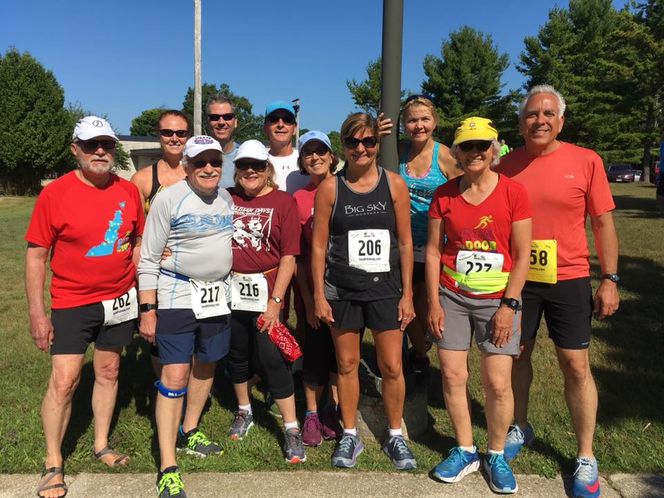 It was another great day on Washington island for the running the Rec Run 10K and 5K.