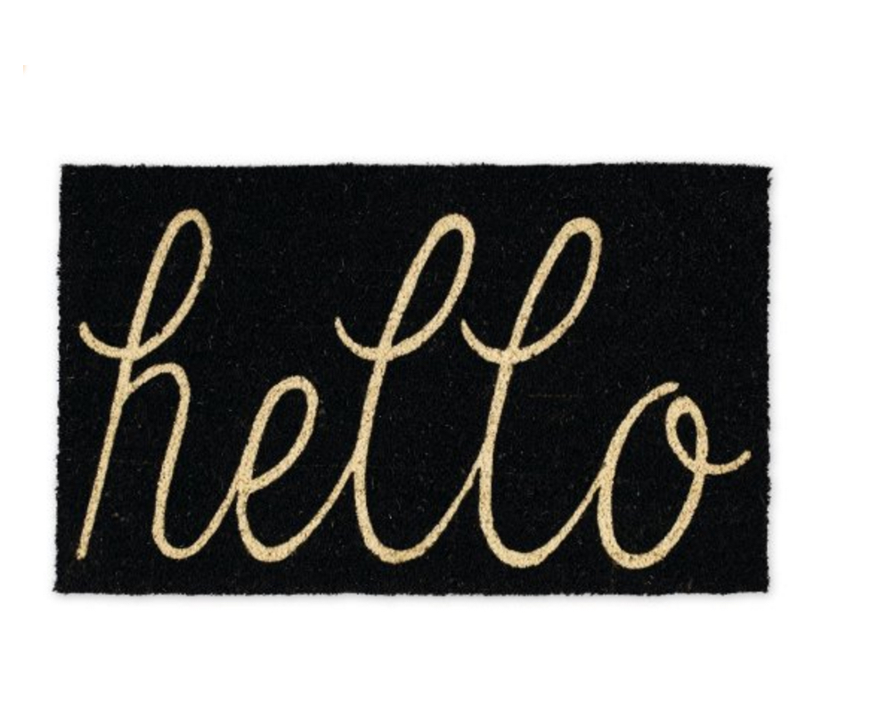 Hello Entry Way Outdoor Door Mat
