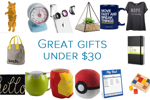 Great gift for under $30