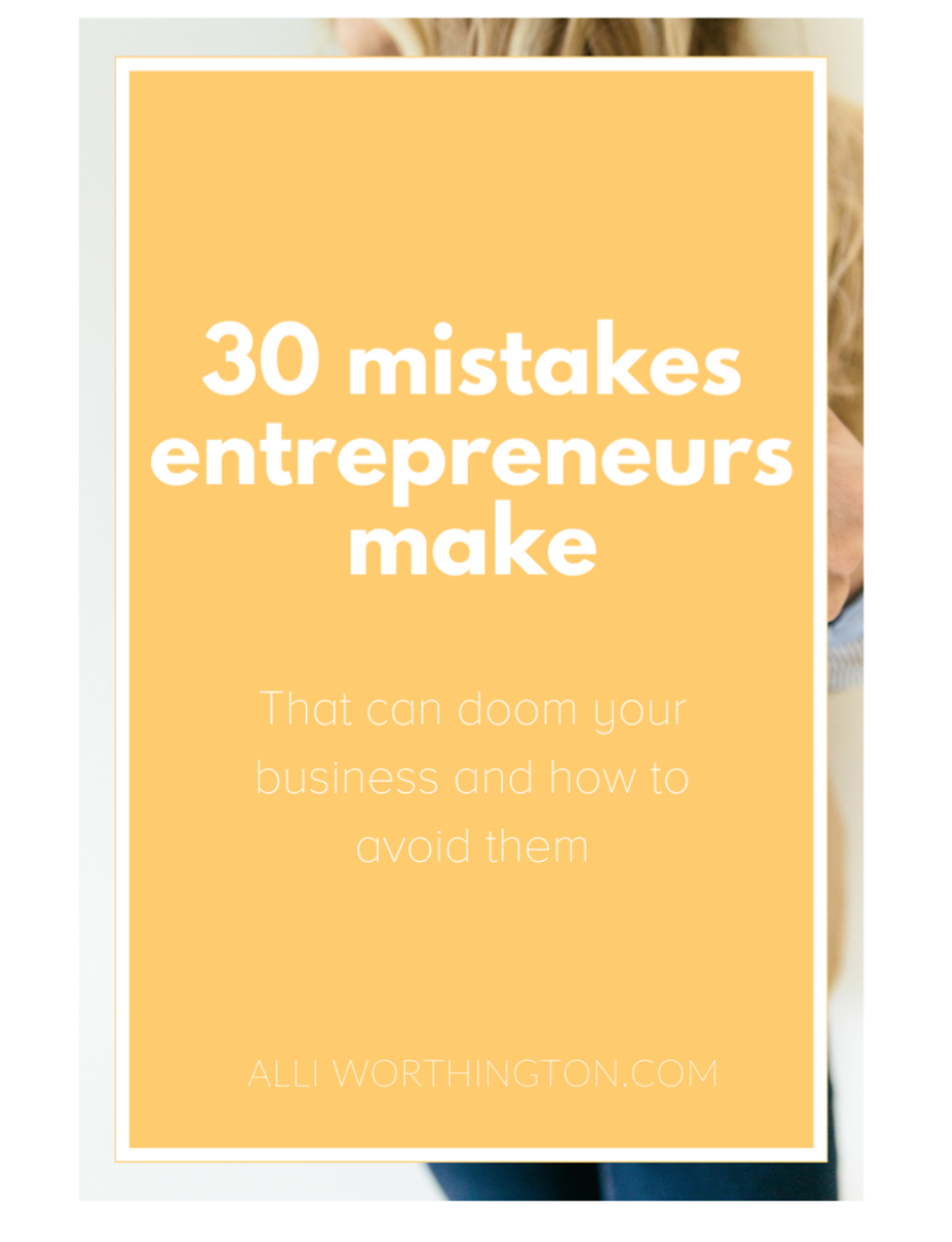 30 Mistakes
