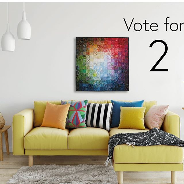 Fiber Art fits a number of spaces, from babies' rooms to living rooms from bedrooms to commercial spaces. POP-UP SHOP closes at Midnight EST. Batik Colorwash No. 20 is still available. Link in profile.