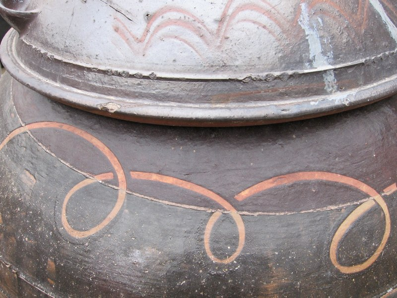 Onggi Jar Detail