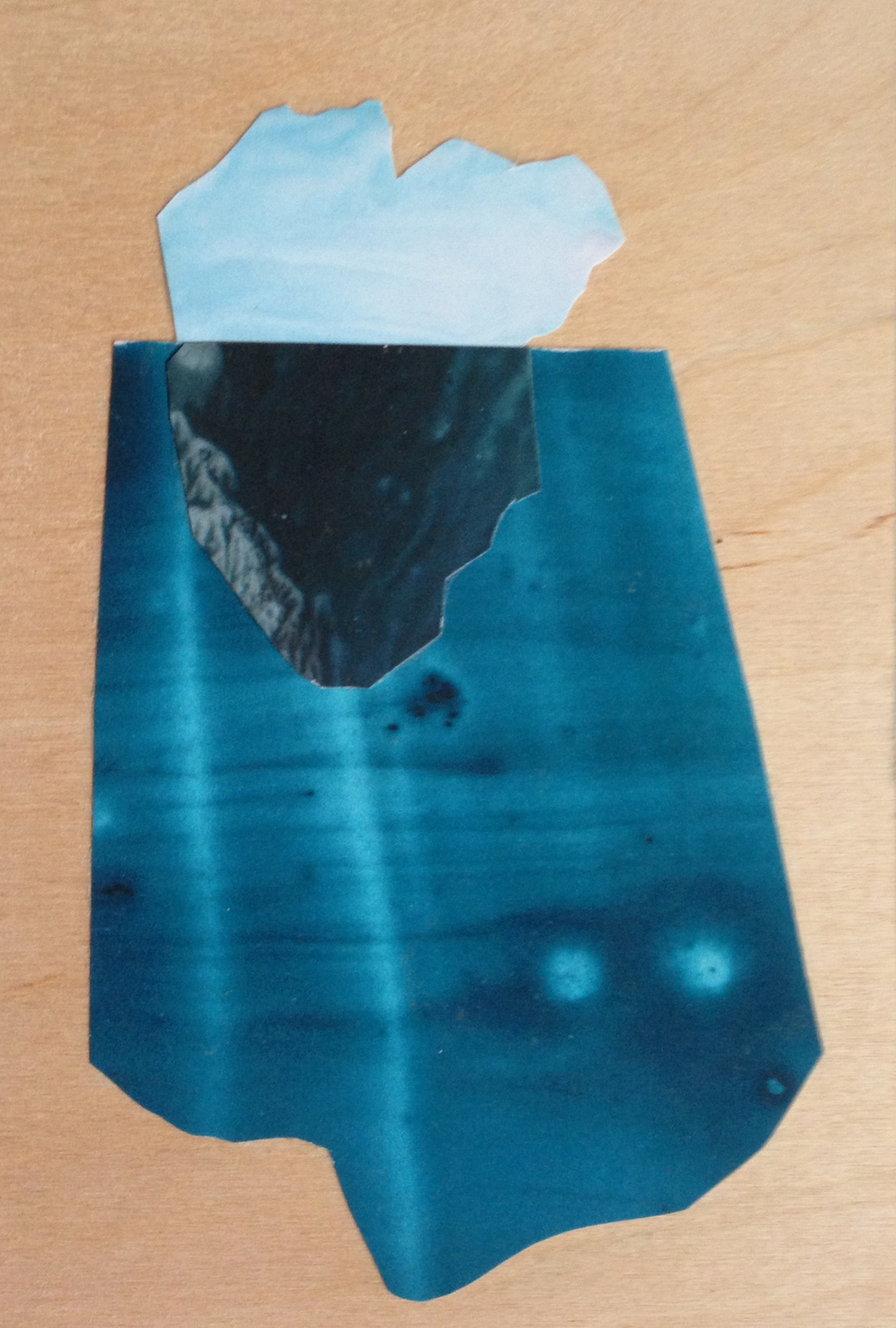 Iceberg, Collage. Sarah Winkler.