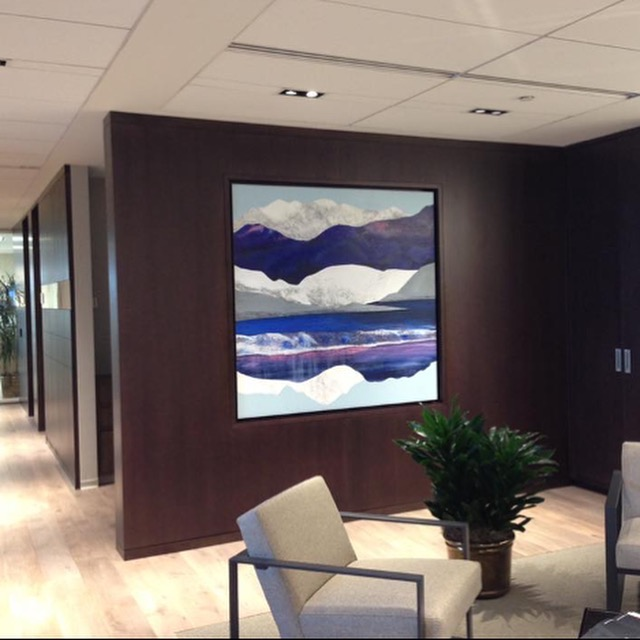 Custom site- specific artworks for residential, corporate, resort interiors.