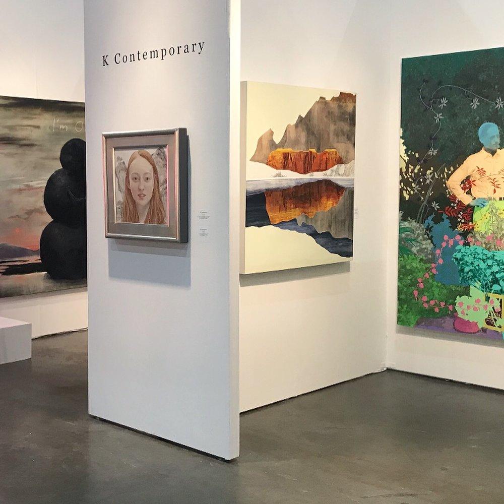 LA Art Show 2018 with K Contemporary