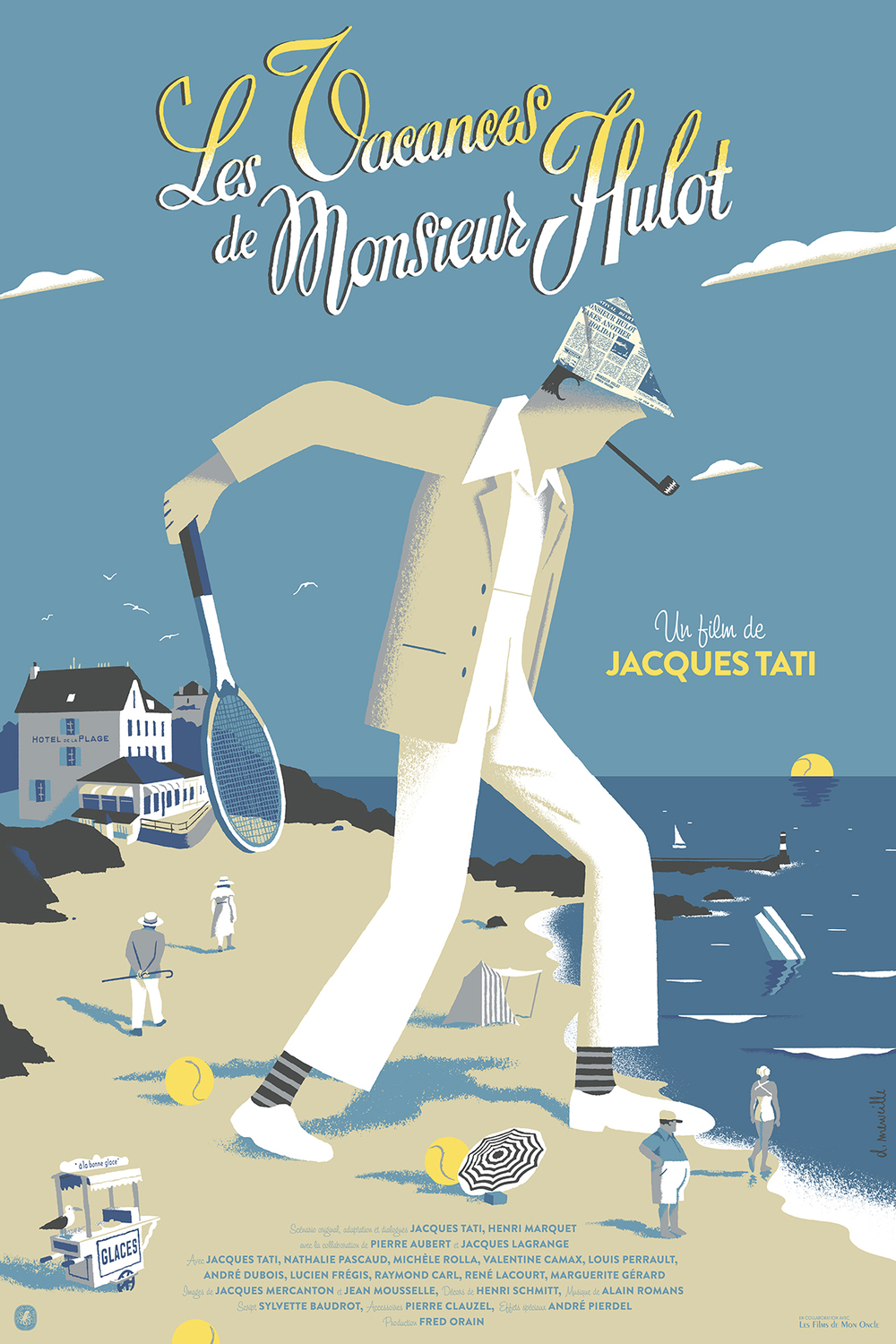 """Les Vacances de Mr Hulot""  (Variant)  SOLD OUT"