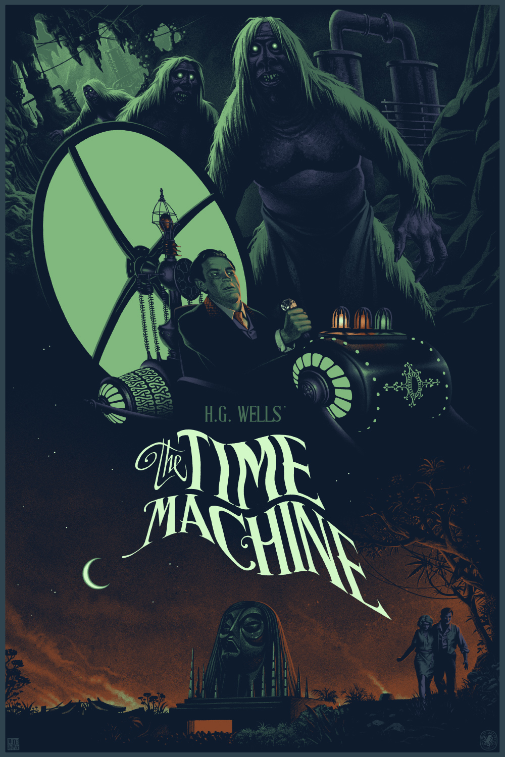 """The Time Machine"" regular version designed by Julien Loïs"