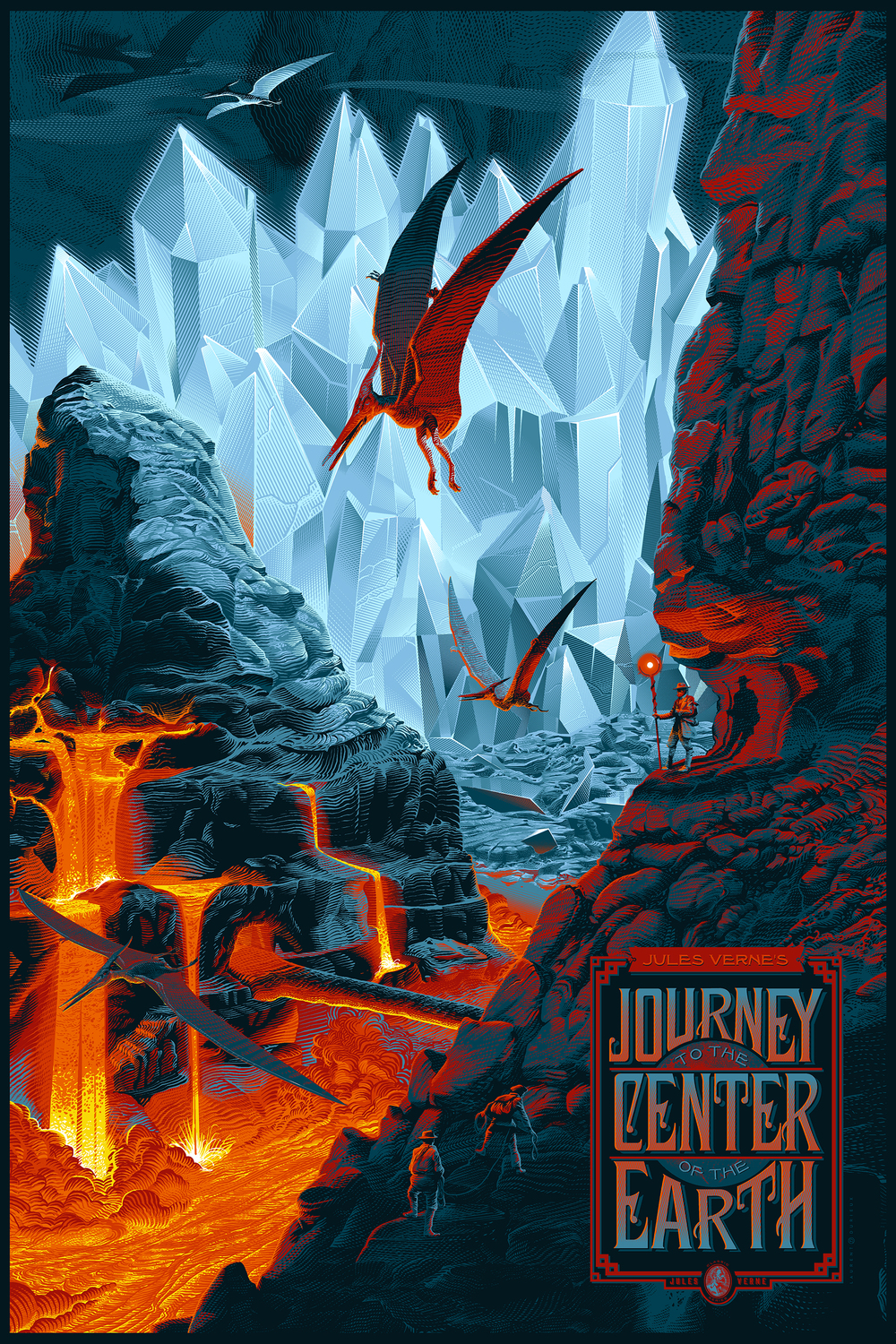 """Journey to the Center of the Earth"" (Variant)"
