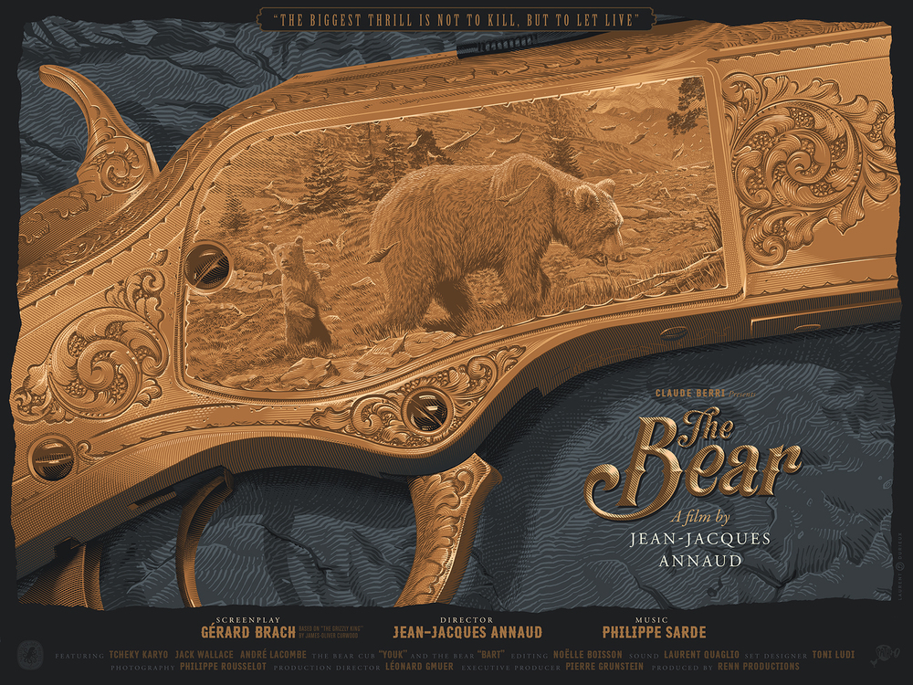 """The Bear"" by Laurent Durieux"