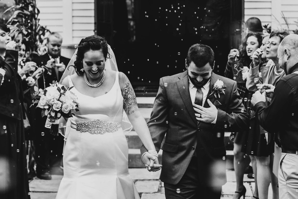 HEARTWARMING FALL WEDDING