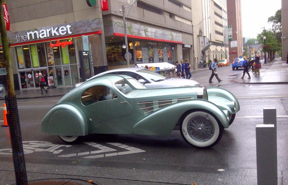 the lost bugatti the rusty car