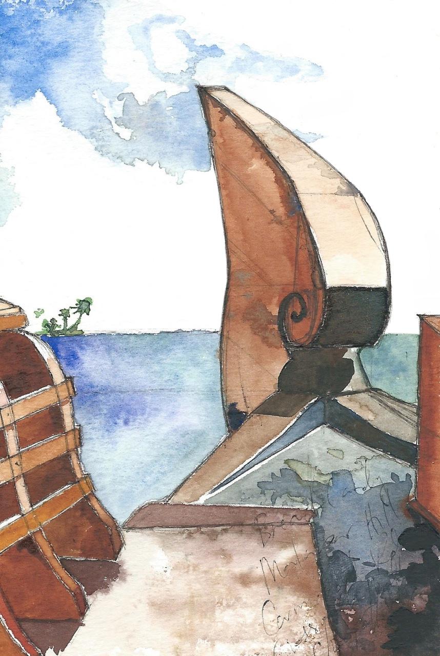 kerala:  houseboat