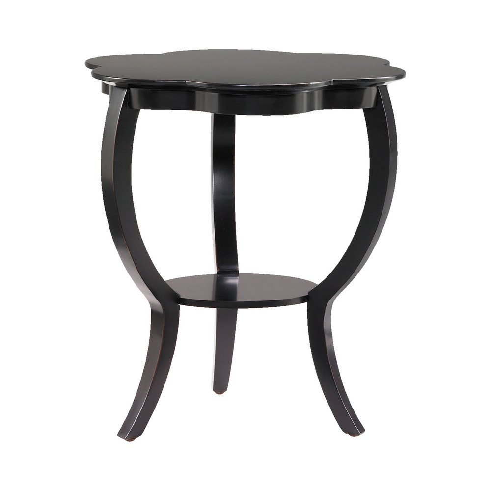 Black Flower Table from Hammerly