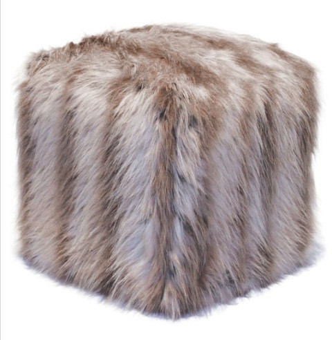 Silverfox Pouf from Lillian August