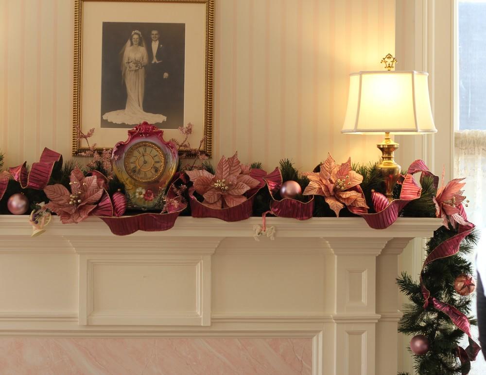 Pink Mantel