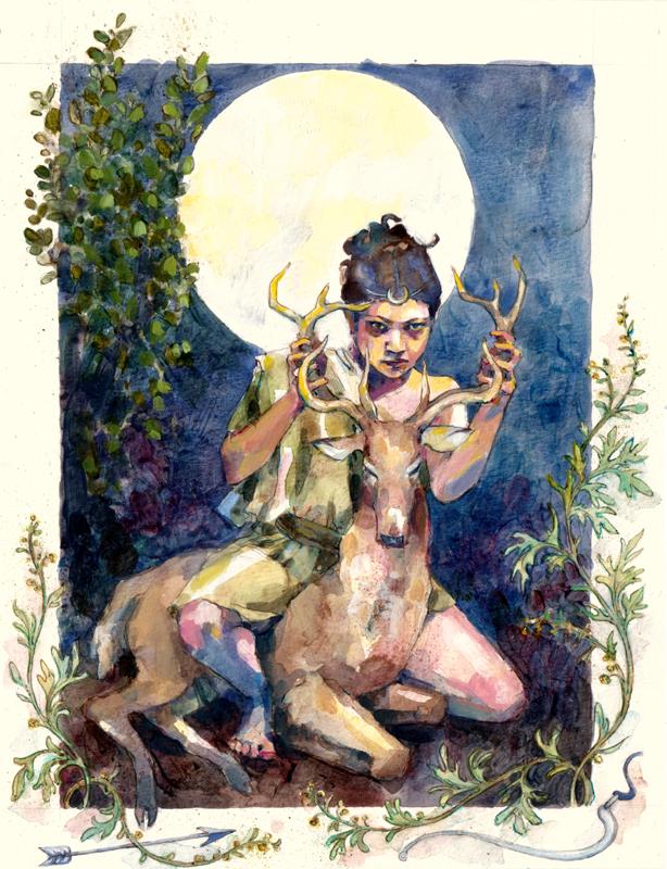 Artemis by Joanna Barnum