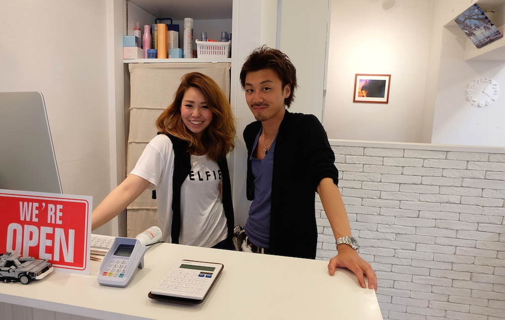 右から石川さん&TOMOちゃん♡