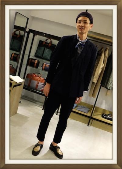 Phlannel のデザイナー津村優氏。彼の創るパターン、デザインは女性を最高に美しく。私もニットを一目惚れGET♡