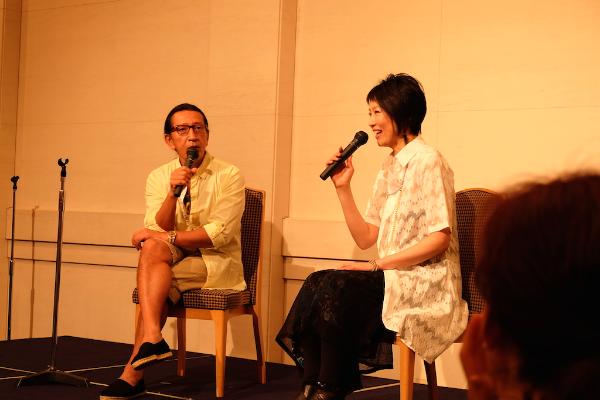 日本のヨガ第一人者であるKen Harakuma 氏のトークショー