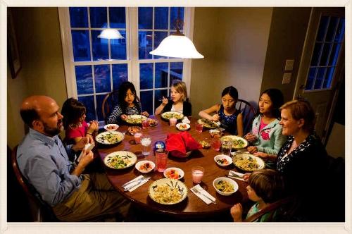 #family#dinner#parenting
