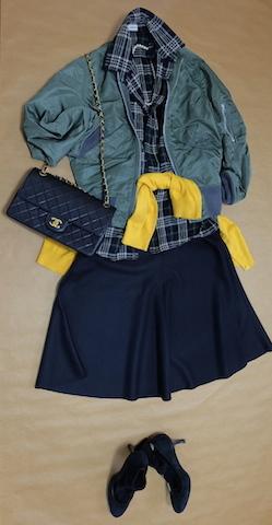 #b&bma1deadstock#drawer#deuxiemeclasse#h&m#chanel#blueforet#pellico