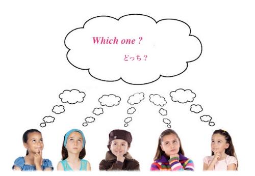 eeny meeny miny mo (イニミニマニモ〜)どちらにしようかな、神様の言う通り〜  #kids#thinking#parenting