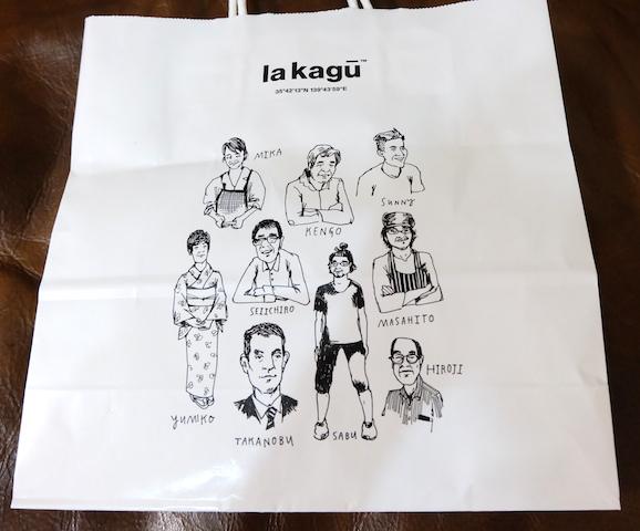 ある方への贈り物と自分用の買い物を。紙袋がすご〜く可愛い!! #lakagu#paperbag