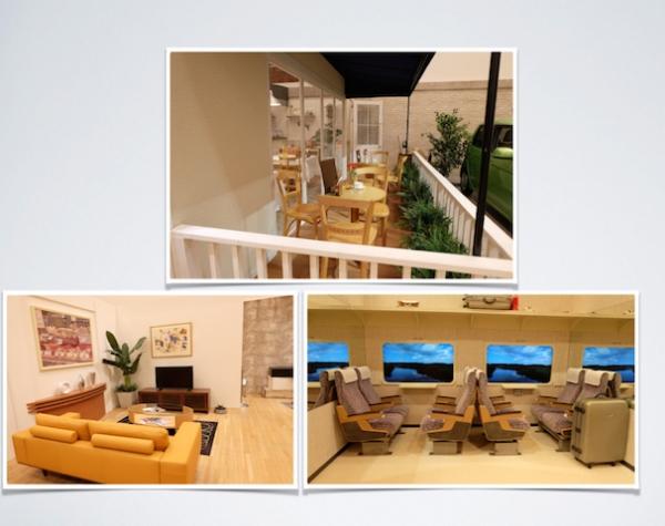 [ミシェル・ゴンドリーの世界一周] ムービーファクトリー/セットの展示  #museumofcontemporaryart#tokyo#michelgondry'sworld#screensetall.