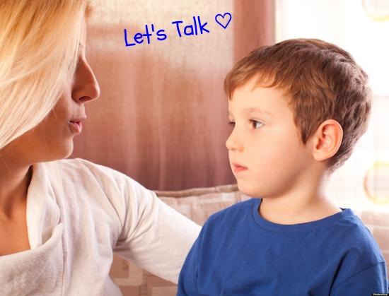 目と目を合わせて、落ち着いたところでゆっくりお話♡   #parenting#communication#kids#talk