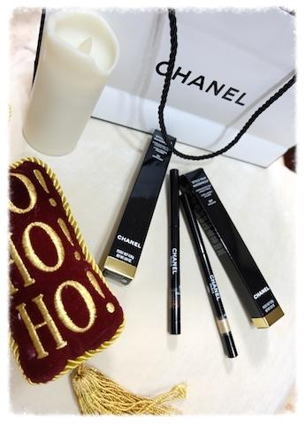 愛用アイライナー2種 #chanel#eyeliner#styloyeuxwaterproof#orblranc#limited