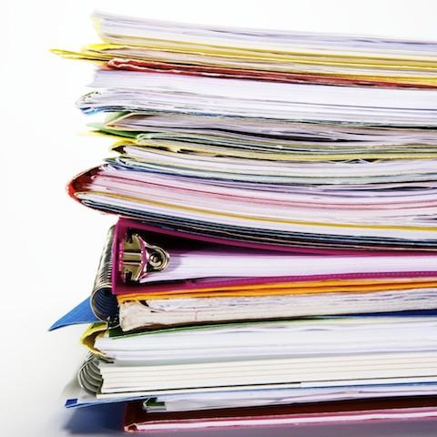書類やファイルの山!(お客様のプライバシー保護の為、画像は顧客様とは一切無関係のものです)     #papers#files#organize
