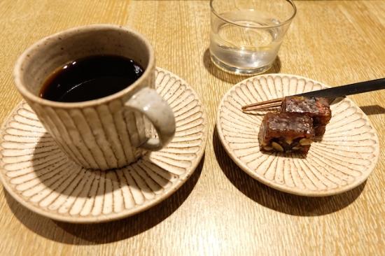 期間限定の新和菓子    果実と木ノ実の道明寺羹    #cobicoffee#higashiya#aoyama#bloomandbranch