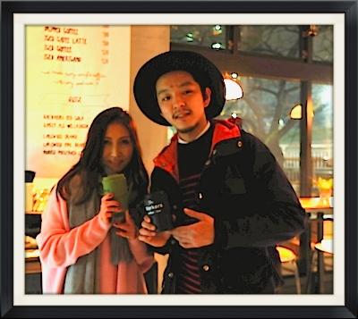謙虚なカリスマバリスタのKaminagaくん。相変わらずお洒落!さらなる活躍期待してますw #theworkers#daisuke#kaminaga#coffee#aobadai