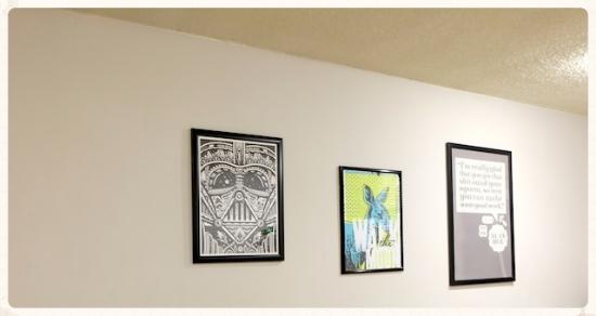 リビングのアート  #newroom#art#livingroom#culvercity#losangeles