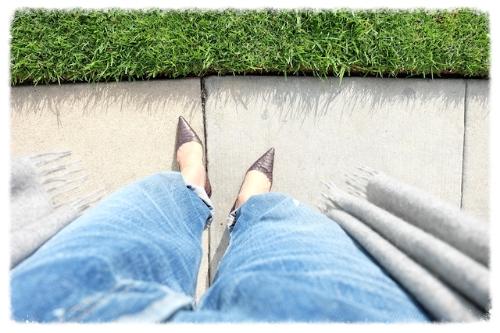 おはよう!今日もがんばろ!    #losangeles#road#concrete#levis501XX#johnstons#chiristianloubtin