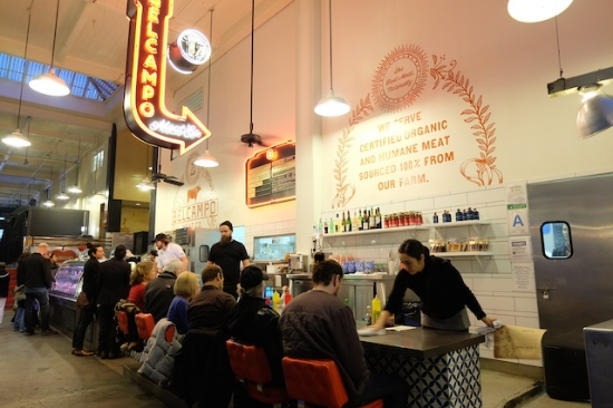 Grand Central Market は生産地から直送のフレッシュな素材が楽しめる。【BELCAMPO】もオーガニックミートもすご〜く美味しい!     #belcampo#grand#central#market#losangeles
