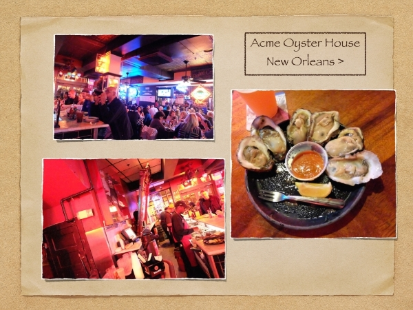 『Acme Oyster House』 行列待ちを覚悟ですが。。オススメです!!#acme#oyster#house#french#quarter#neworleans#bar