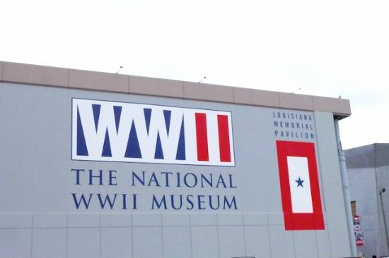 あまりの大きさにまずびっくりする。#worldwar#museum#nola#national